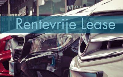 Renteloos autoleasing nu beschikbaar!